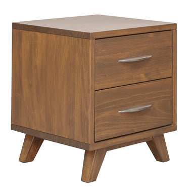 Soho Caramel Pine End Table - MJM Furniture
