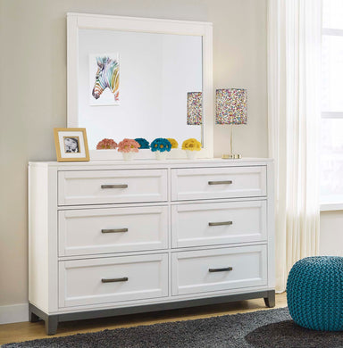 Brynburg 6 Drawer Dresser & Mirror - MJM Furniture
