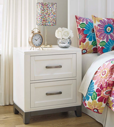 Brynburg 2 Drawer Nightstand - MJM Furniture