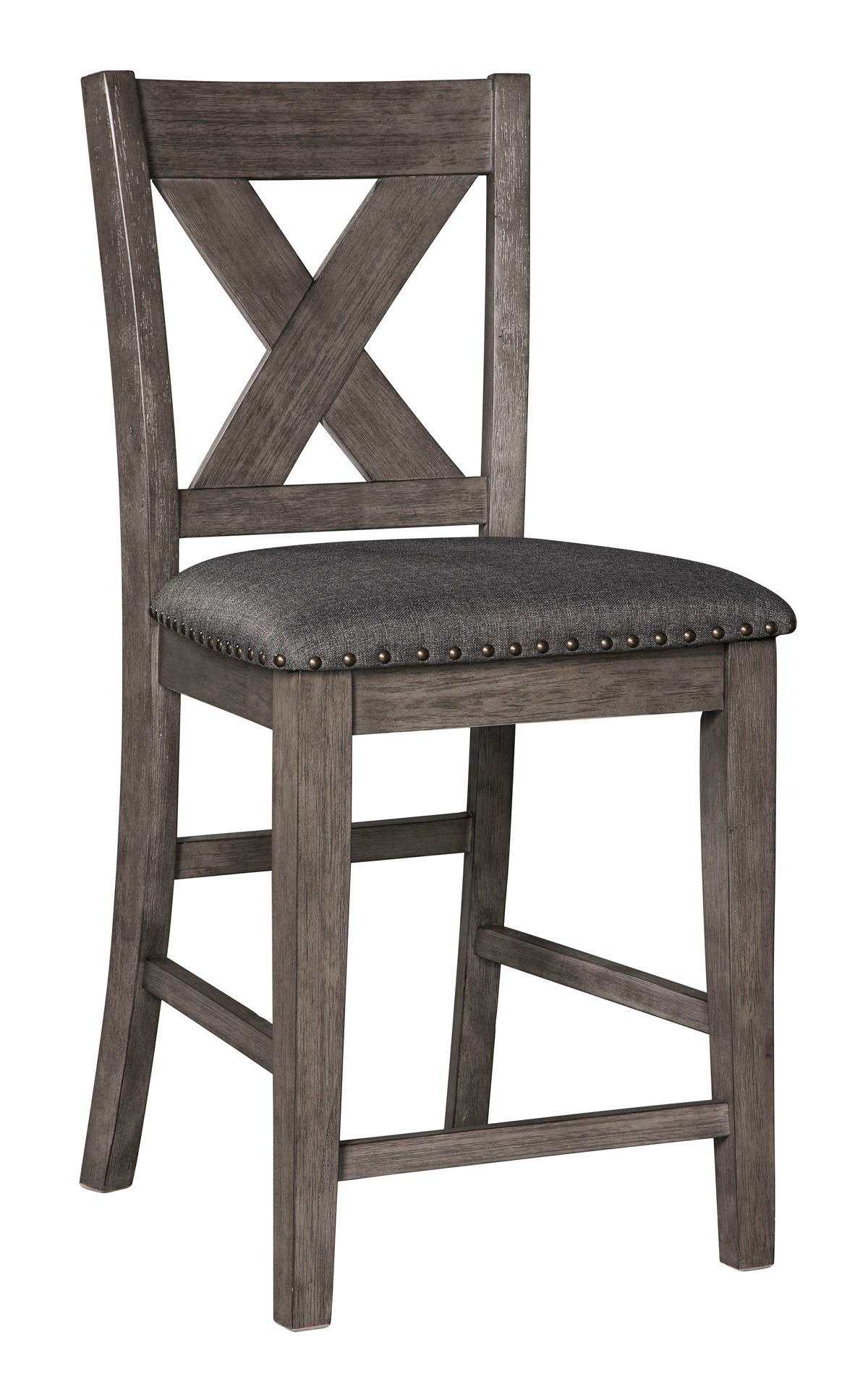 Caitbrook Upholstered Counter Barstool - MJM Furniture
