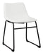 Centiar White Dining Chair - MJM Furniture