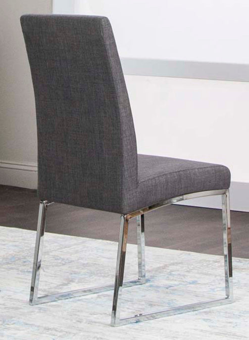 Classic Dark Gray Dining Room Chair - MJM Furniture