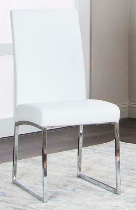Berlin White Dining Room Chair - MJM Furniture