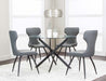 Eclipse Charcoal Dining Chair - MJM Furniture