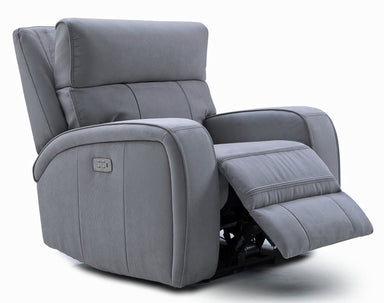 Ryler Power Recliner w/Power Headrest - MJM Furniture