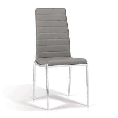 Hazel Gray Dining Chair - MJM Furniture