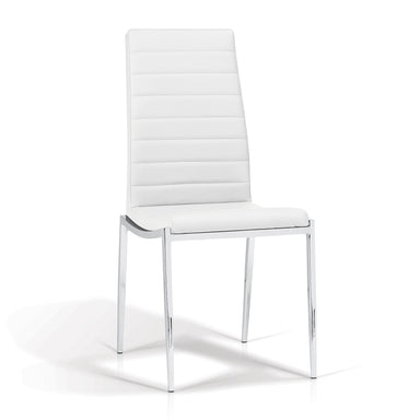 Hazel White Dining Chair - MJM Furniture