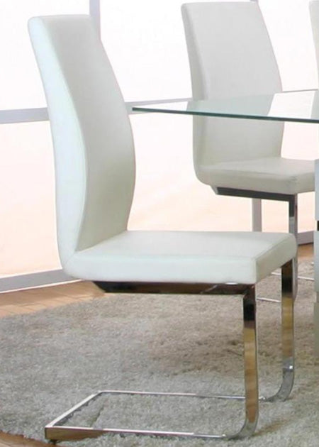 Heka White Dining Chair - MJM Furniture