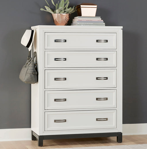 Hyde Park White Chest - MJM Furniture