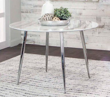 Idina Round Dining Table - MJM Furniture