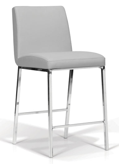 Lamar Light Grey Counter Stool - MJM Furniture