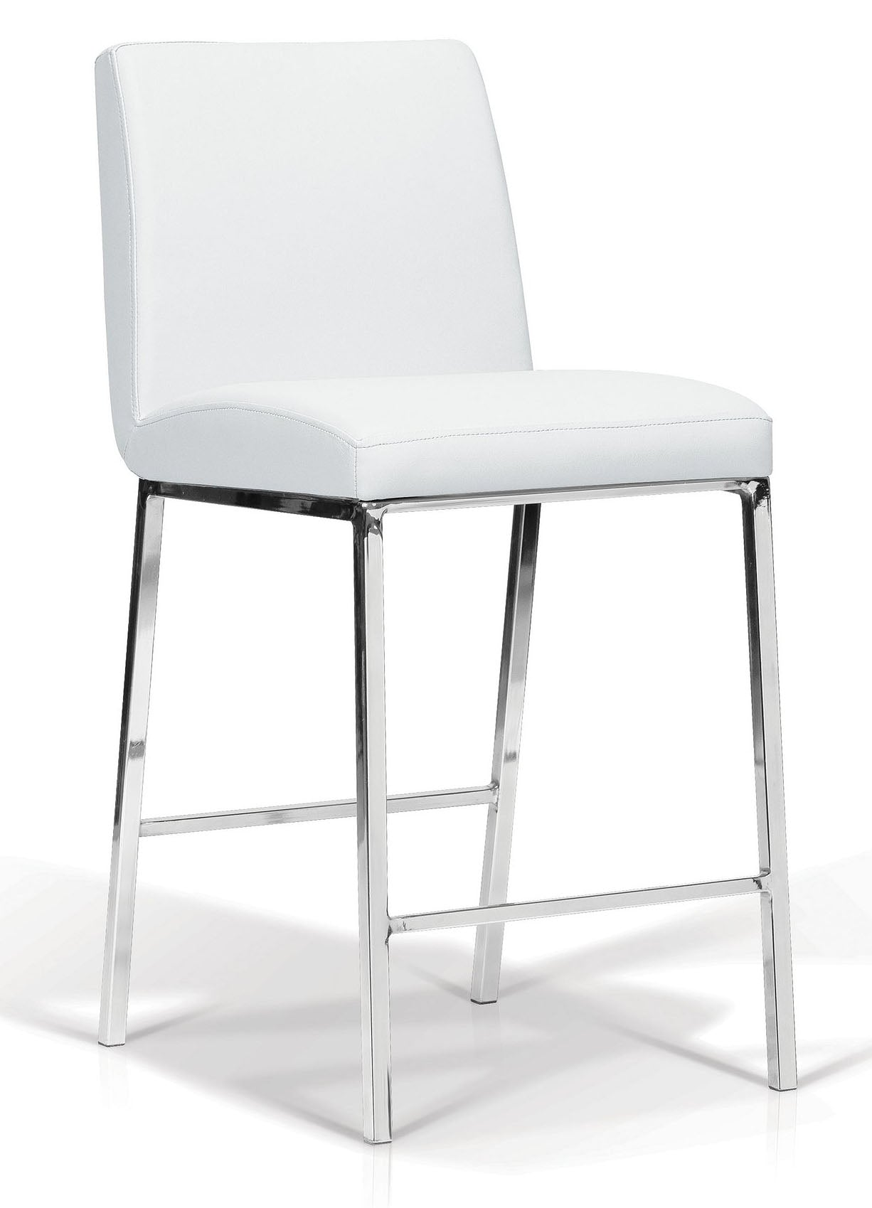 Lamar White Counter Stool Mjm Furniture