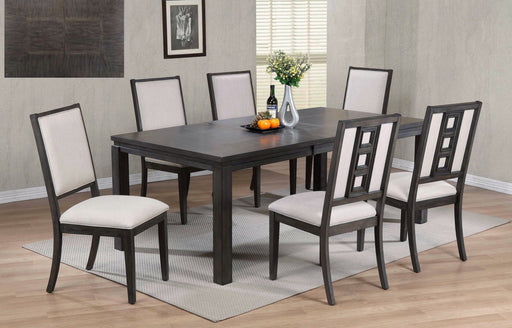 Lancaster 7 Piece Dining Room Table Set - MJM Furniture