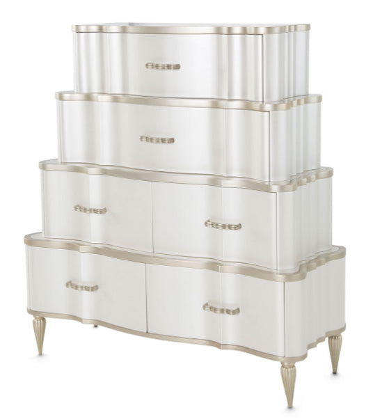 London Place Tiered 6 Drawer Chest - MJM Furniture