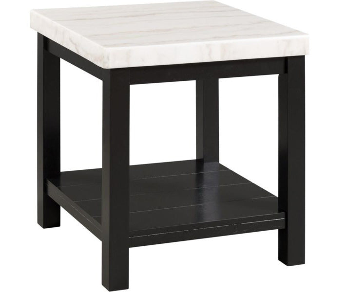 Marcello Marble End Table - MJM Furniture
