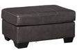 Morelos Gray Ottoman - MJM Furniture