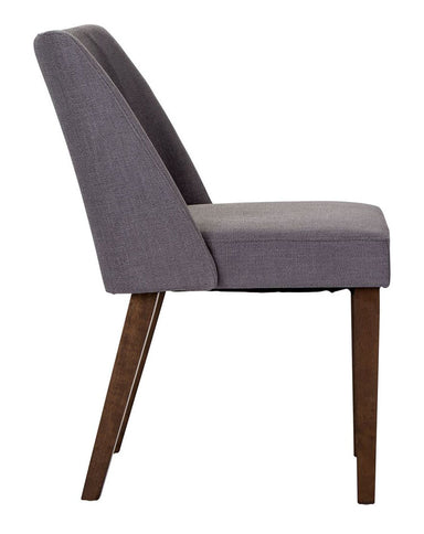 Space Savers Nido Gray Upholstered Dining Chair - MJM Furniture