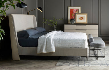 Nina Magon Jasper Upholstered Bed - MJM Furniture