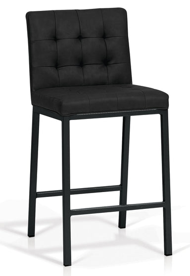 Olin Black Counter Stool - MJM Furniture