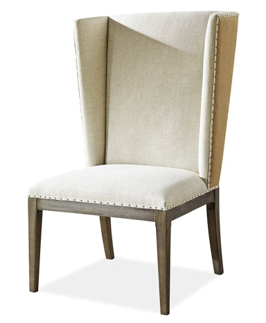Playlist Upholstered Host Dining Room Chair - MJM Furniture