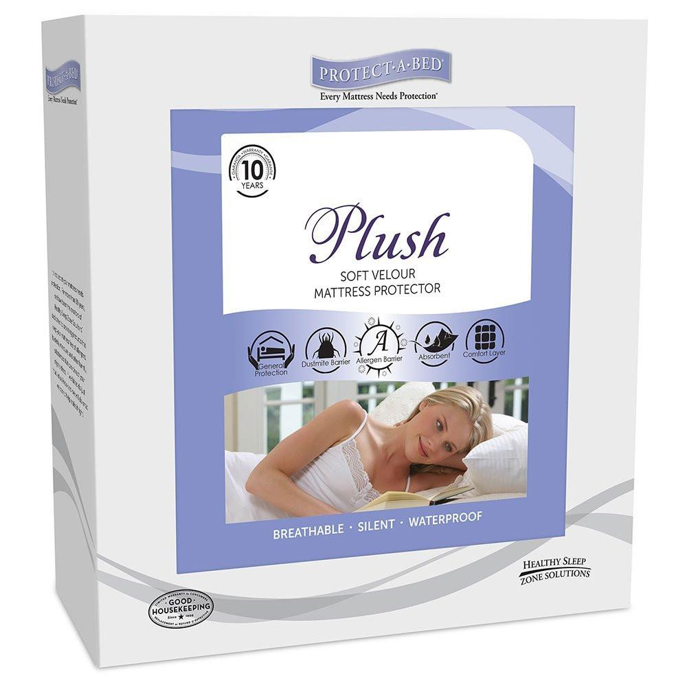 Protect-A-Bed Plush Waterproof Mattress Protector - MJM Furniture