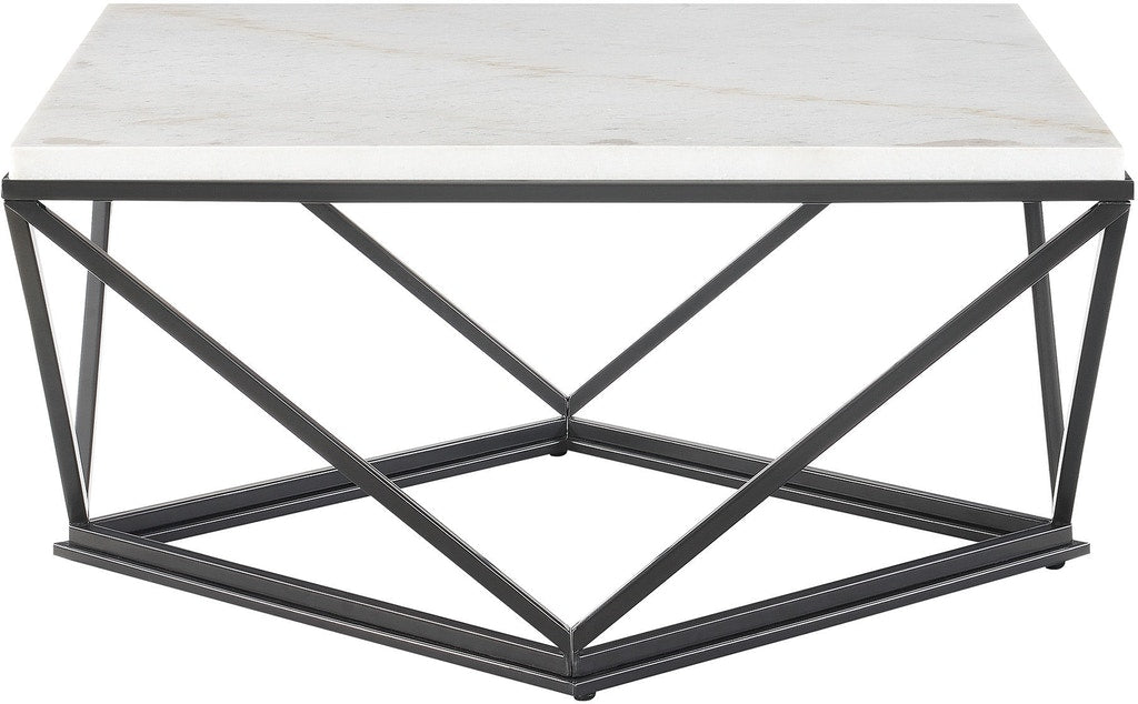 Niko Square Marble Coffee Table - MJM Furniture