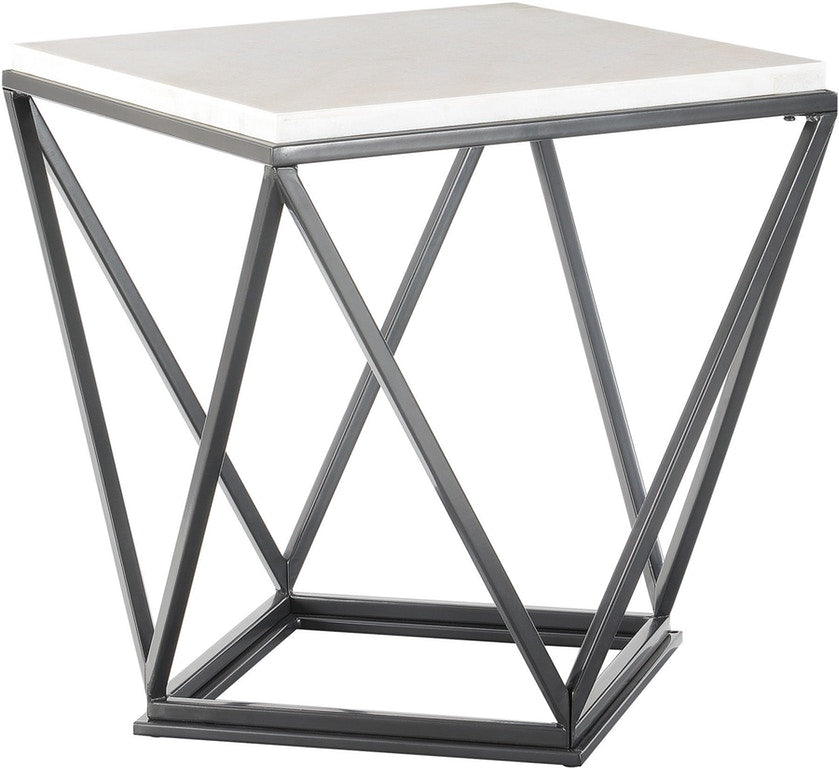Niko Marble End Table - MJM Furniture