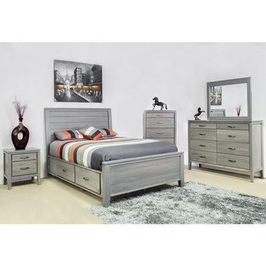 Skylar Pine Storage Bed - MJM Furniture