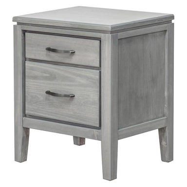 Skylar 2 Drawer Pine Nightstand - MJM Furniture