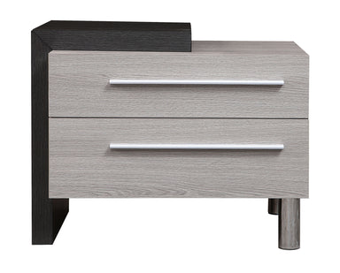 Oceane 2 Drawer Right Nightstand - MJM Furniture