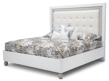 Sky Tower Upholstered Bed - MJM Furniture