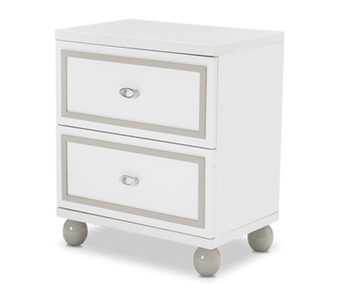 Sky Tower 2 Drawer Nightstand - MJM Furniture
