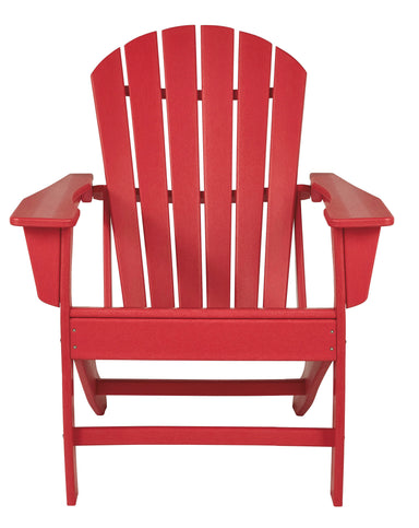Sundown Treasure Red Adirondack Chair - MJM Furniture