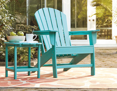 Sundown Treasure Teal Adirondack Chair - MJM Furniture