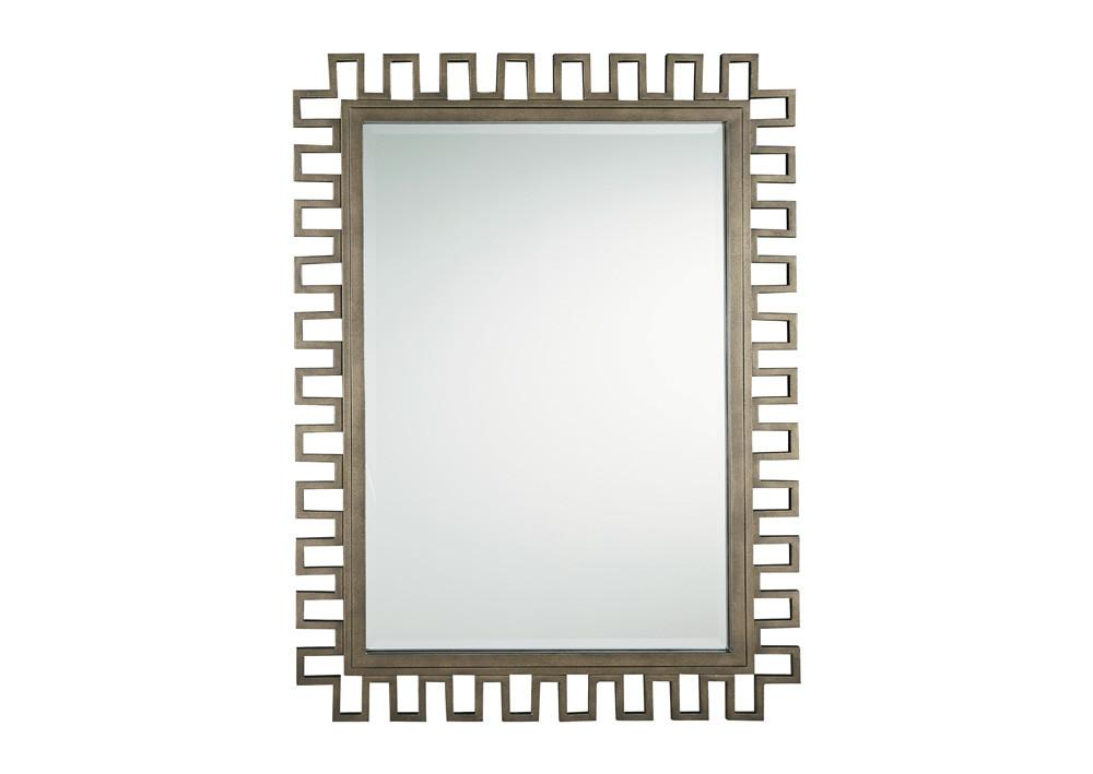 Synchronicity Metal Accent Mirror - MJM Furniture