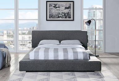 Levi Upholstered Platform Bed - MJM Furniture