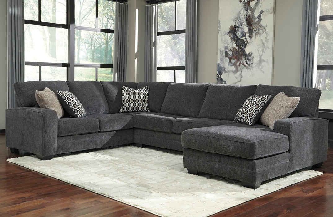 Tracling Slate 3 Piece Sectional - MJM Furniture
