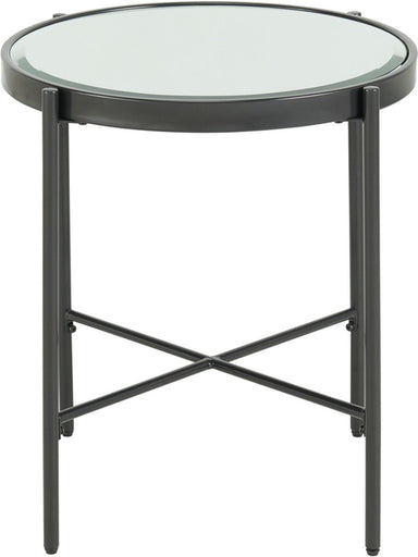 Vienna Glass Top End Table - MJM Furniture