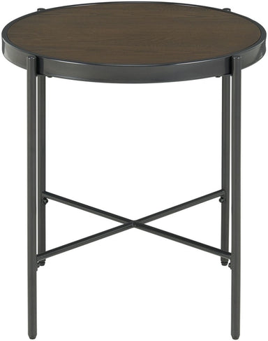 Vienna Wood Top End Table - MJM Furniture