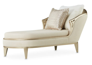 Villa Cherie Caramel Chaise - MJM Furniture