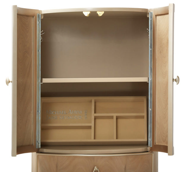 Villa Cherie Caramel Swivel Lingerie Chest - MJM Furniture