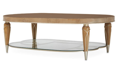 Villa Cherie Oval Coffee Table - MJM Furniture