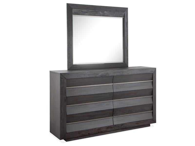 Wentworth Village Double Dresser & Mirror - MJM Furniture