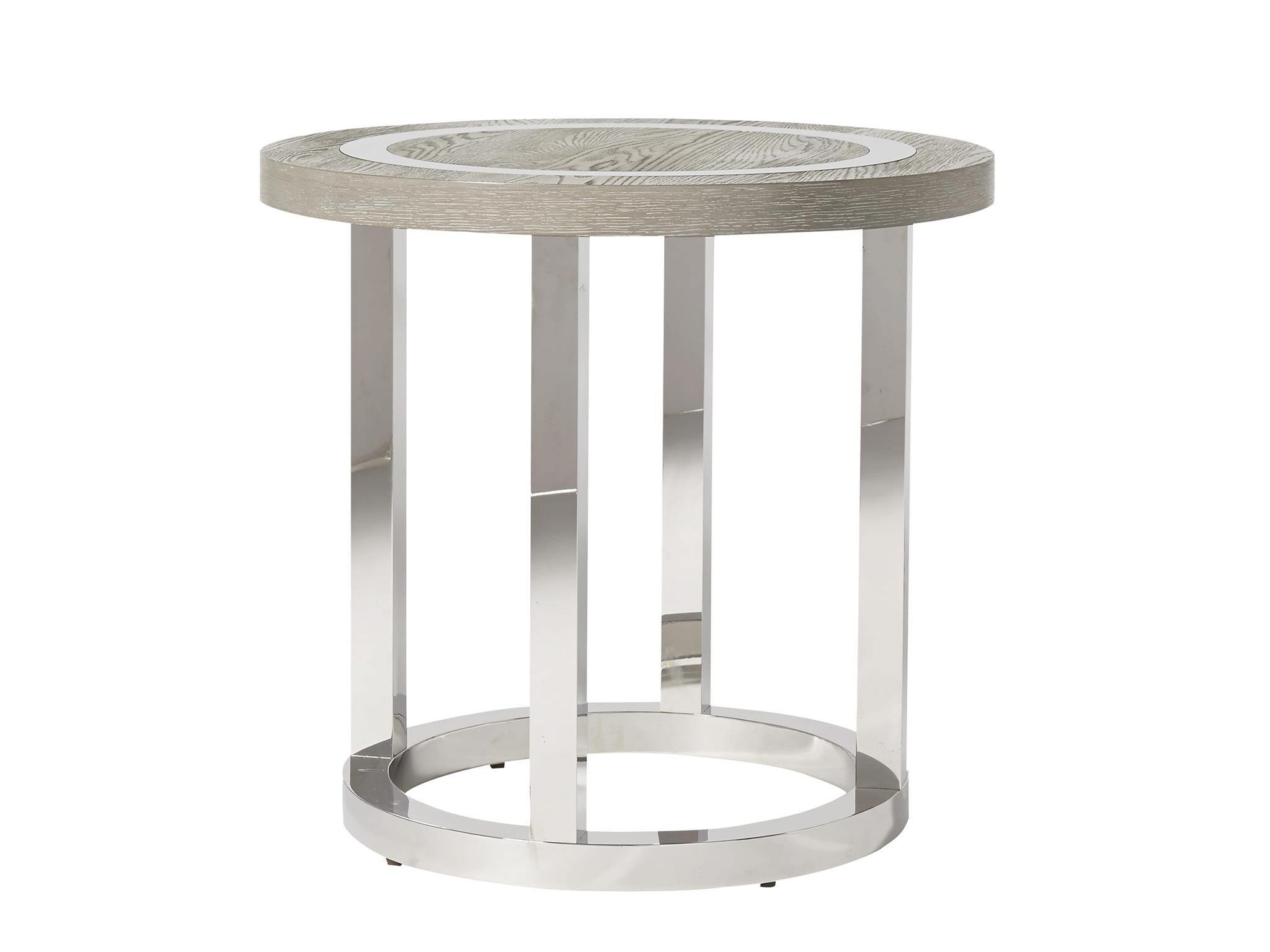 Wyatt Round End Table - MJM Furniture