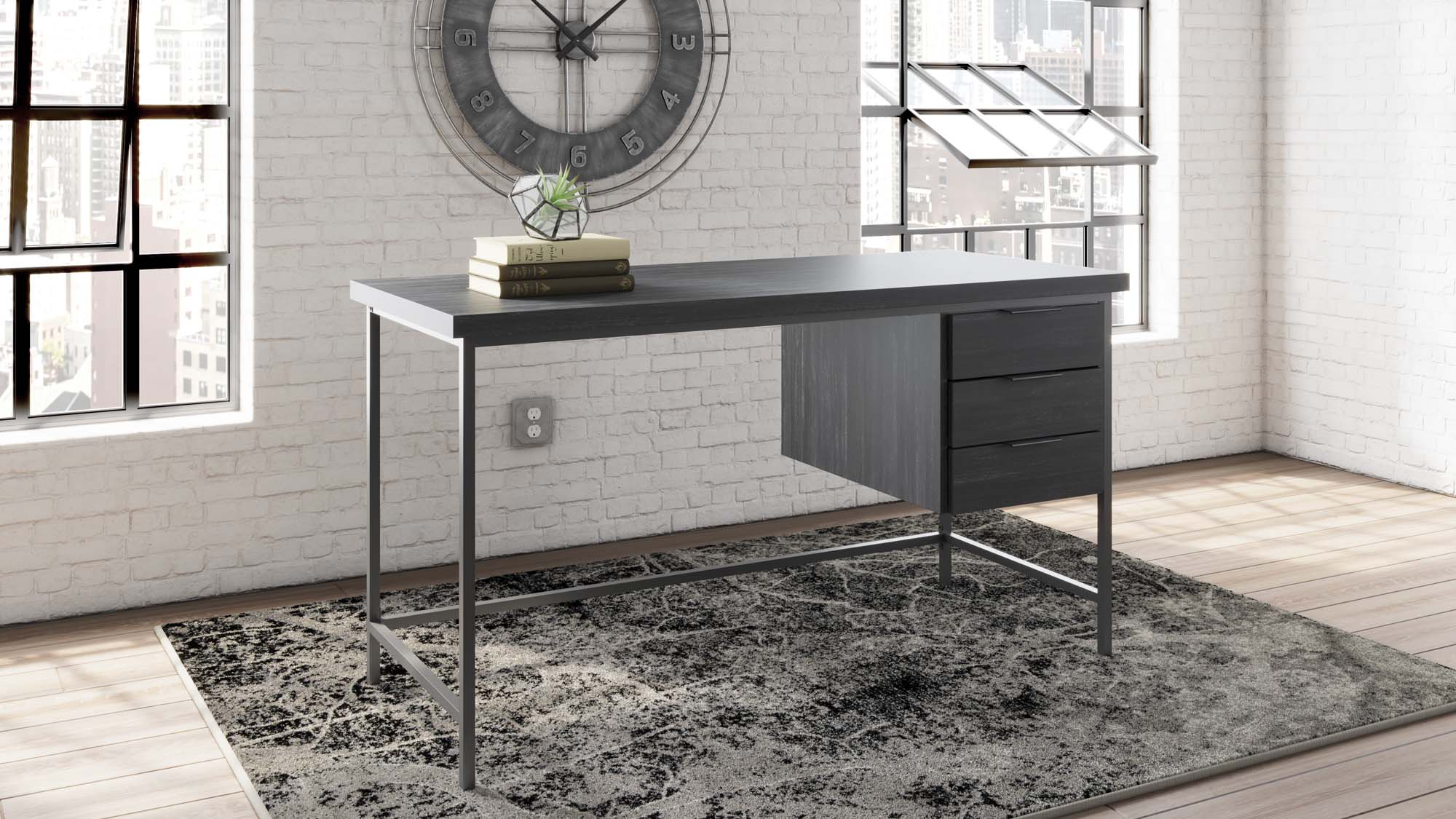 Yarlow Home Office Desk - MJM Furniture
