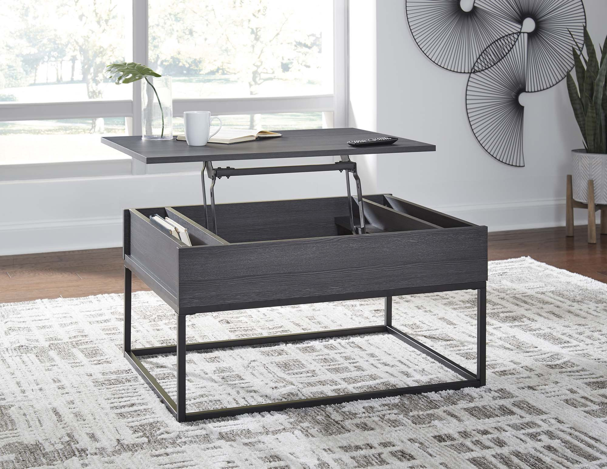 Yarlow Lift Top Coffee Table - MJM Furniture