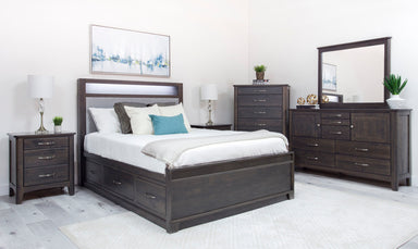 Camryn Alder Storage Bed - MJM Furniture