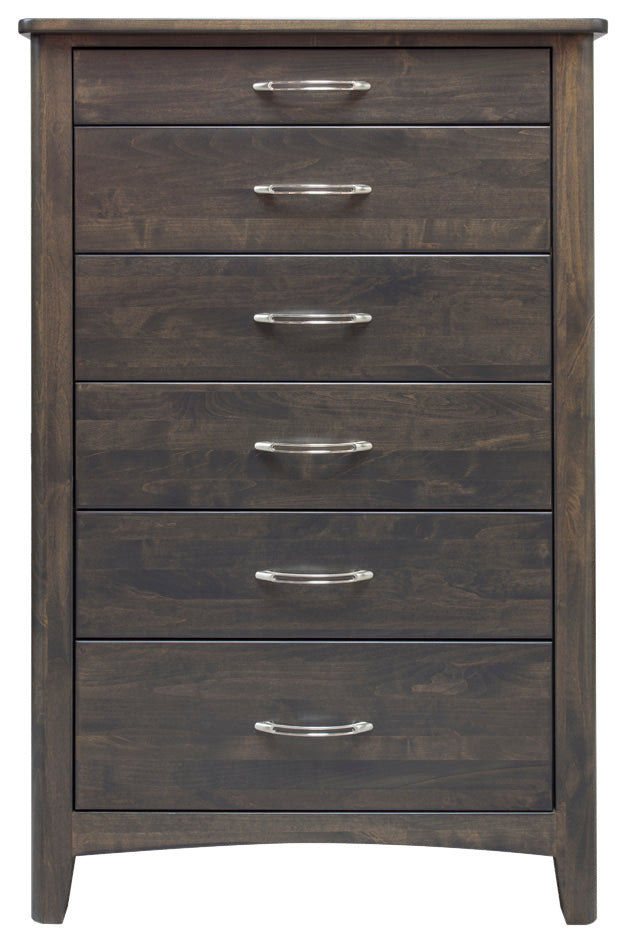 York Alder 6 Drawer Chest - MJM Furniture
