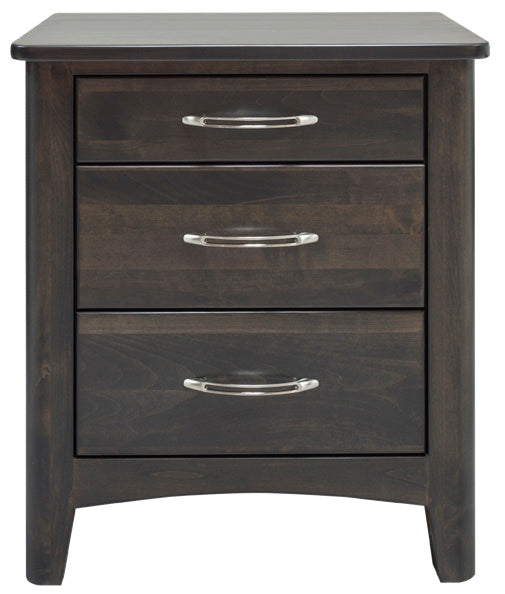 York Alder 2.5 Drawer Nightstand - MJM Furniture
