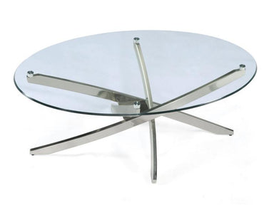 Zila Oval Coffee Table - MJM Furniture